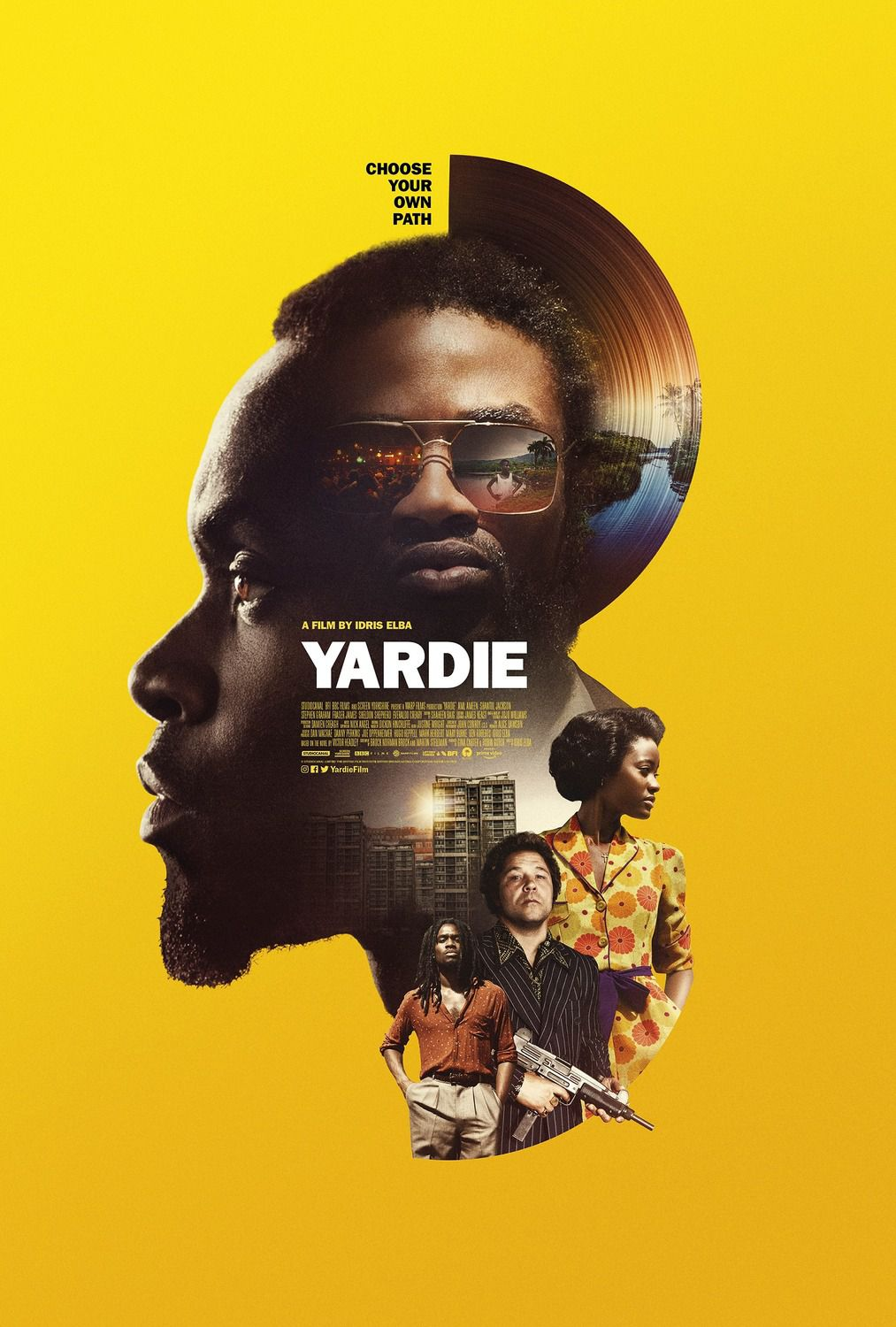 Yardie (2018) - yellow poster
