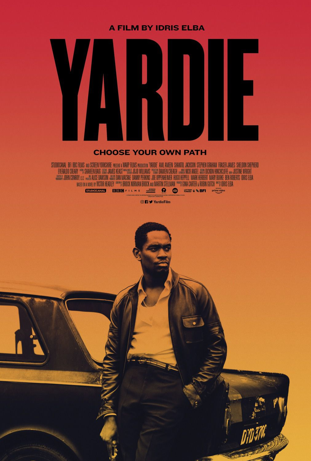 Yardie by Idris Elba - film poster 2018