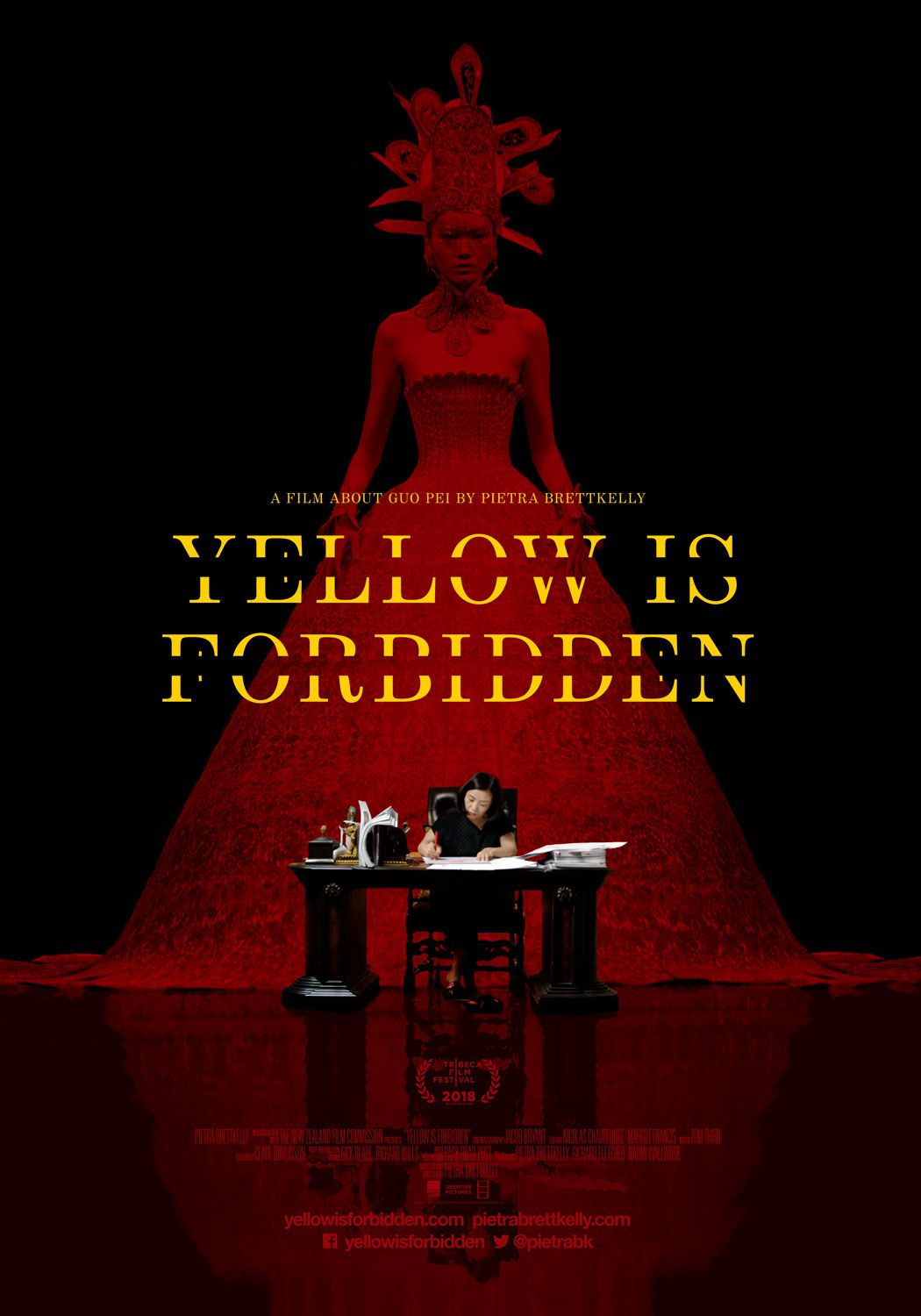 Yellow is Forbidden - film poster