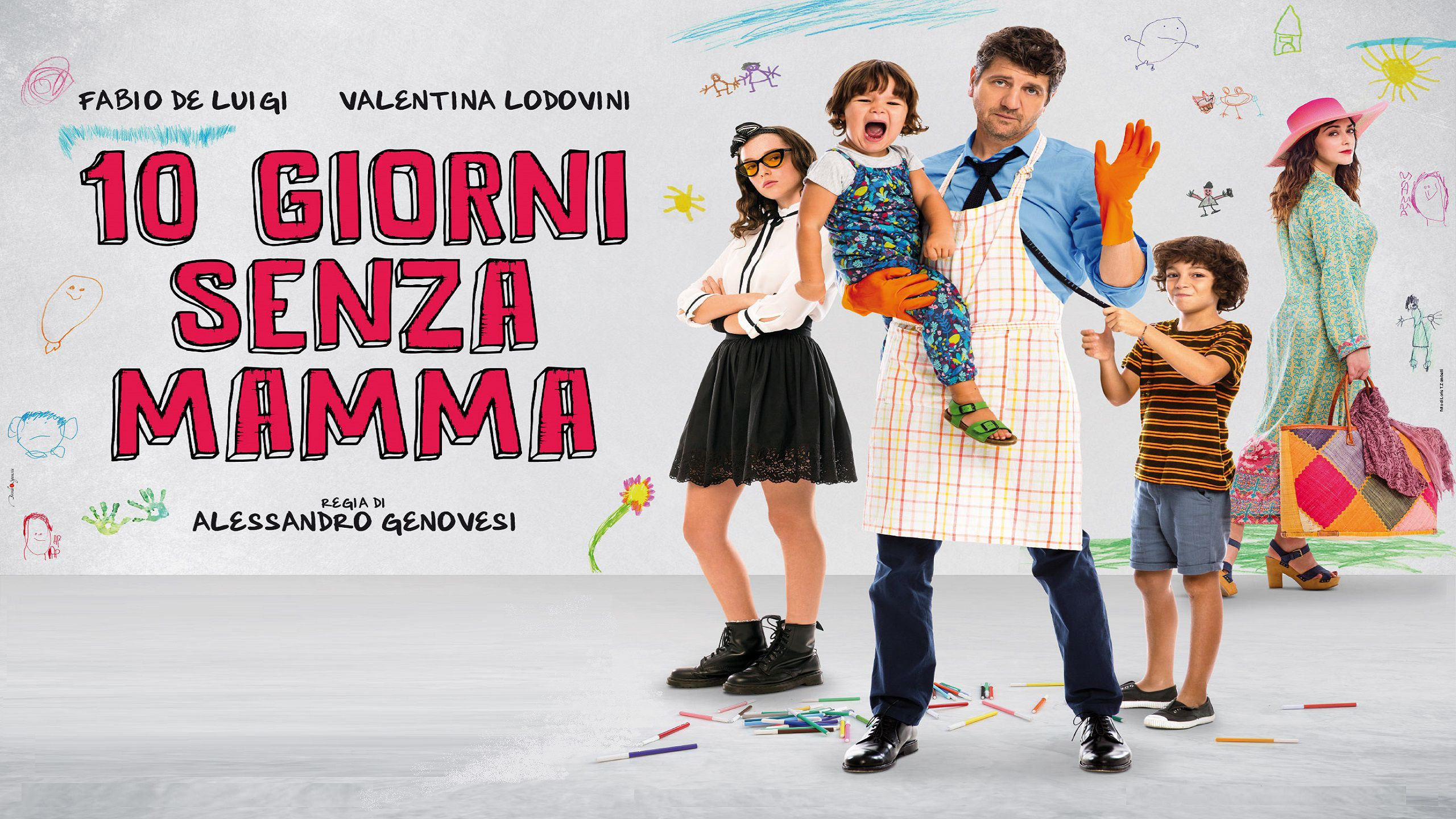 10 Giorni senza Mamma - Ten Days without Mom (2019)