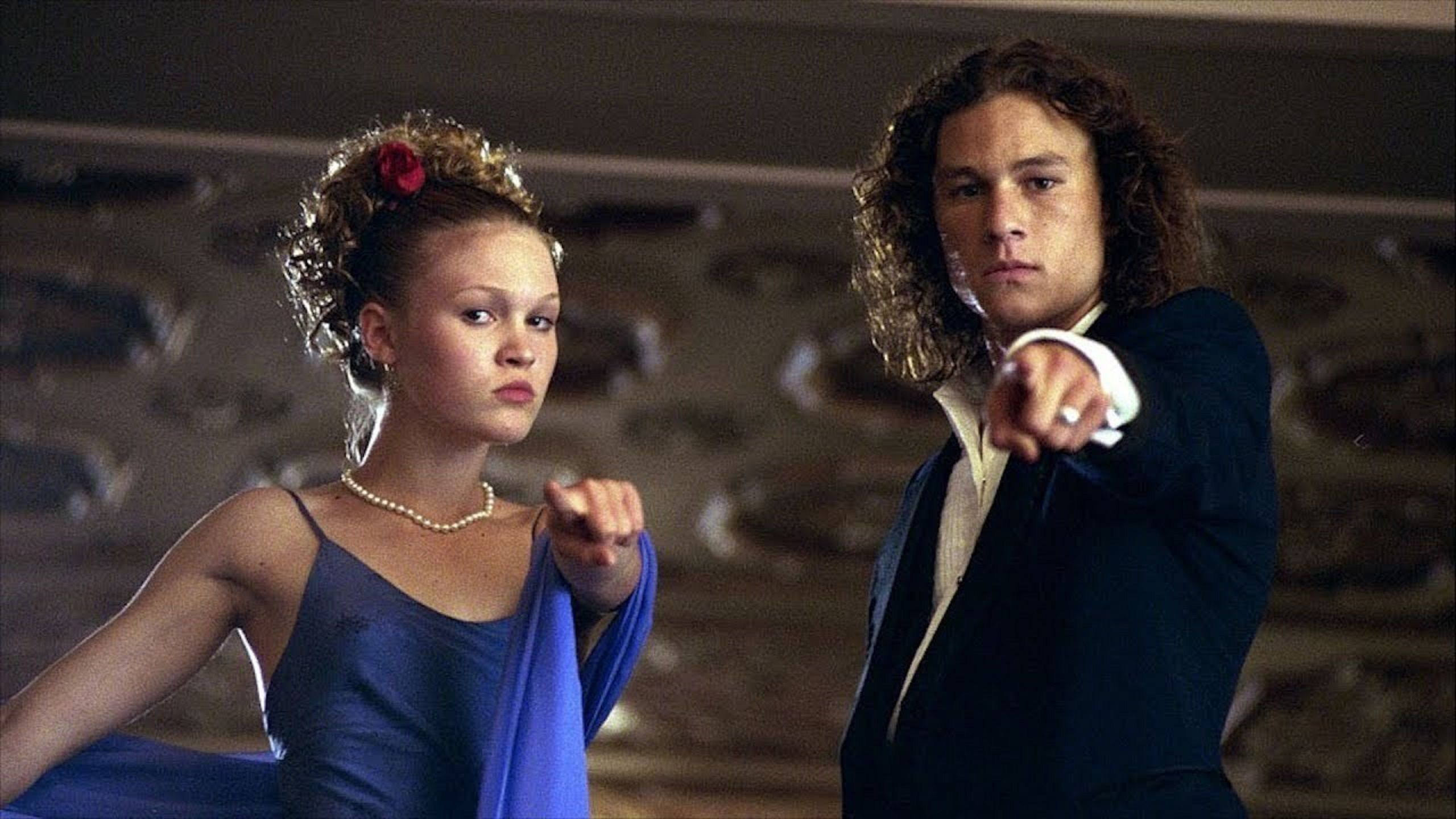10 Things I hate about You - Kat Stratford (Julia Stiles) - Patrick Verona (Heath Ledger)