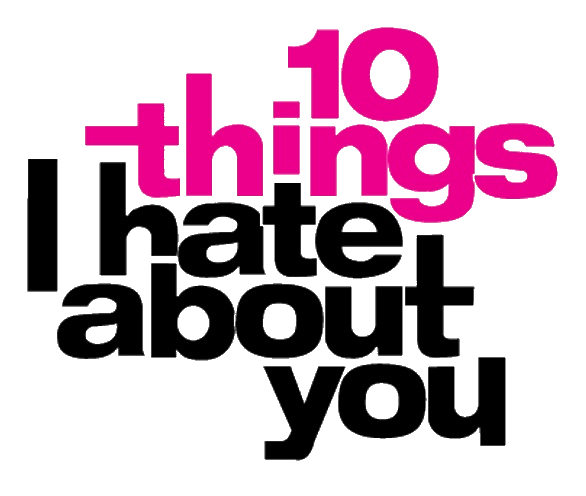 10 Things I Hate about You logo transparent