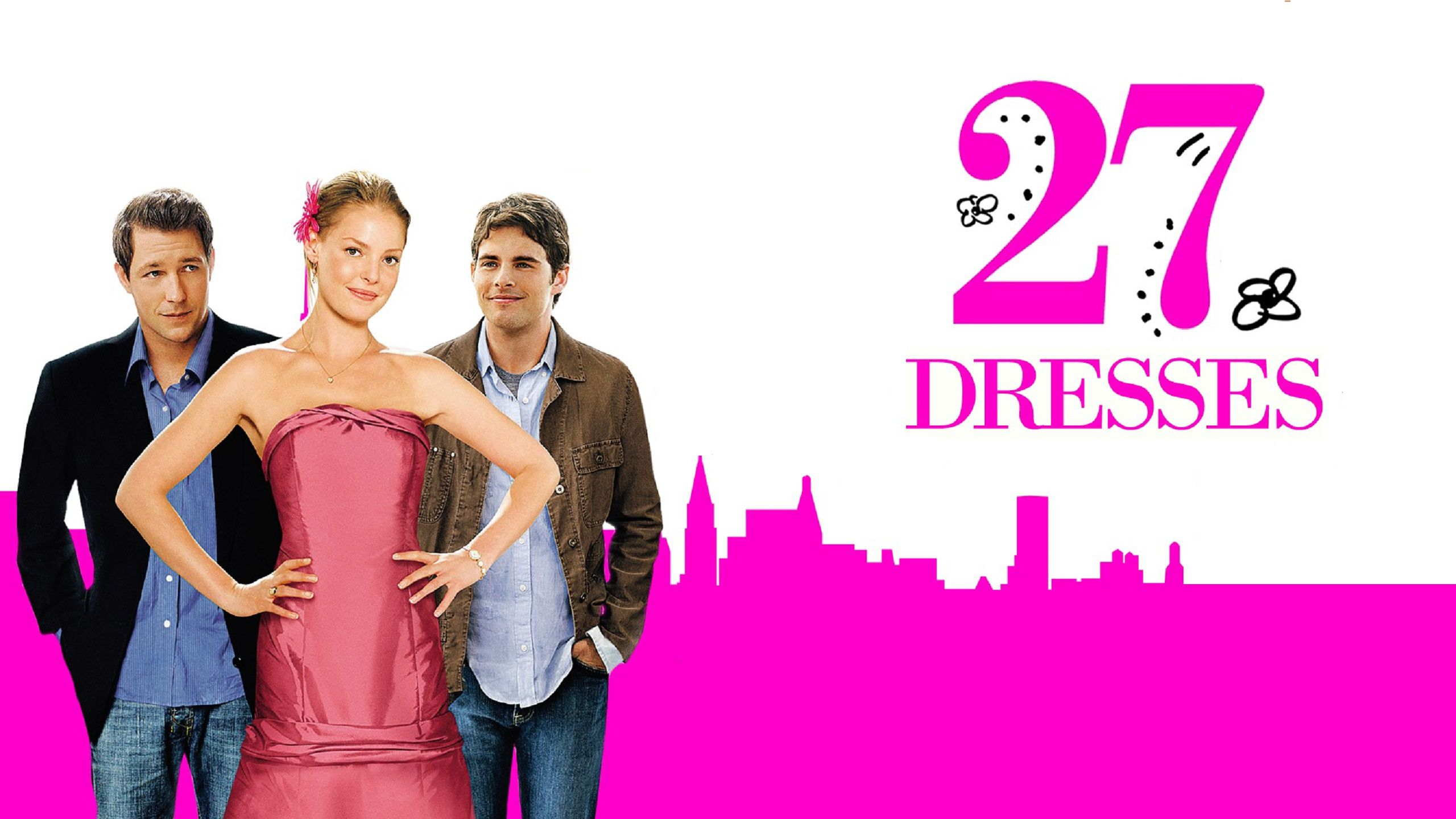 27 volte in bianco - 27 Dresses - wallpaper poster movie collection