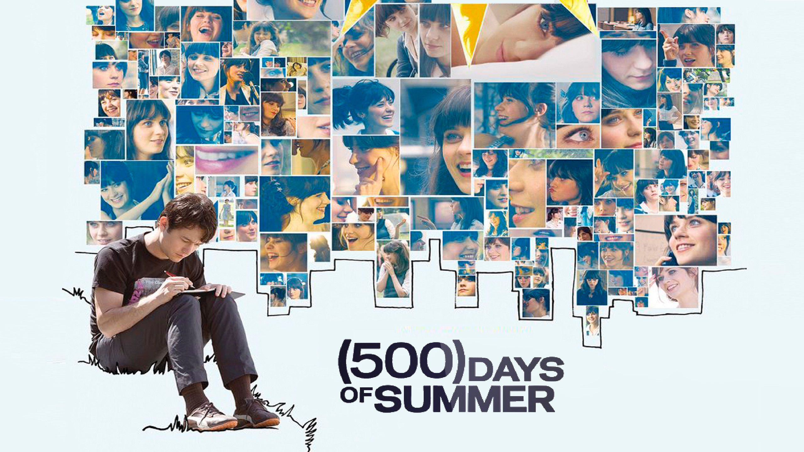 500 Days of Summer 2009 2 Wallpaper & Poster