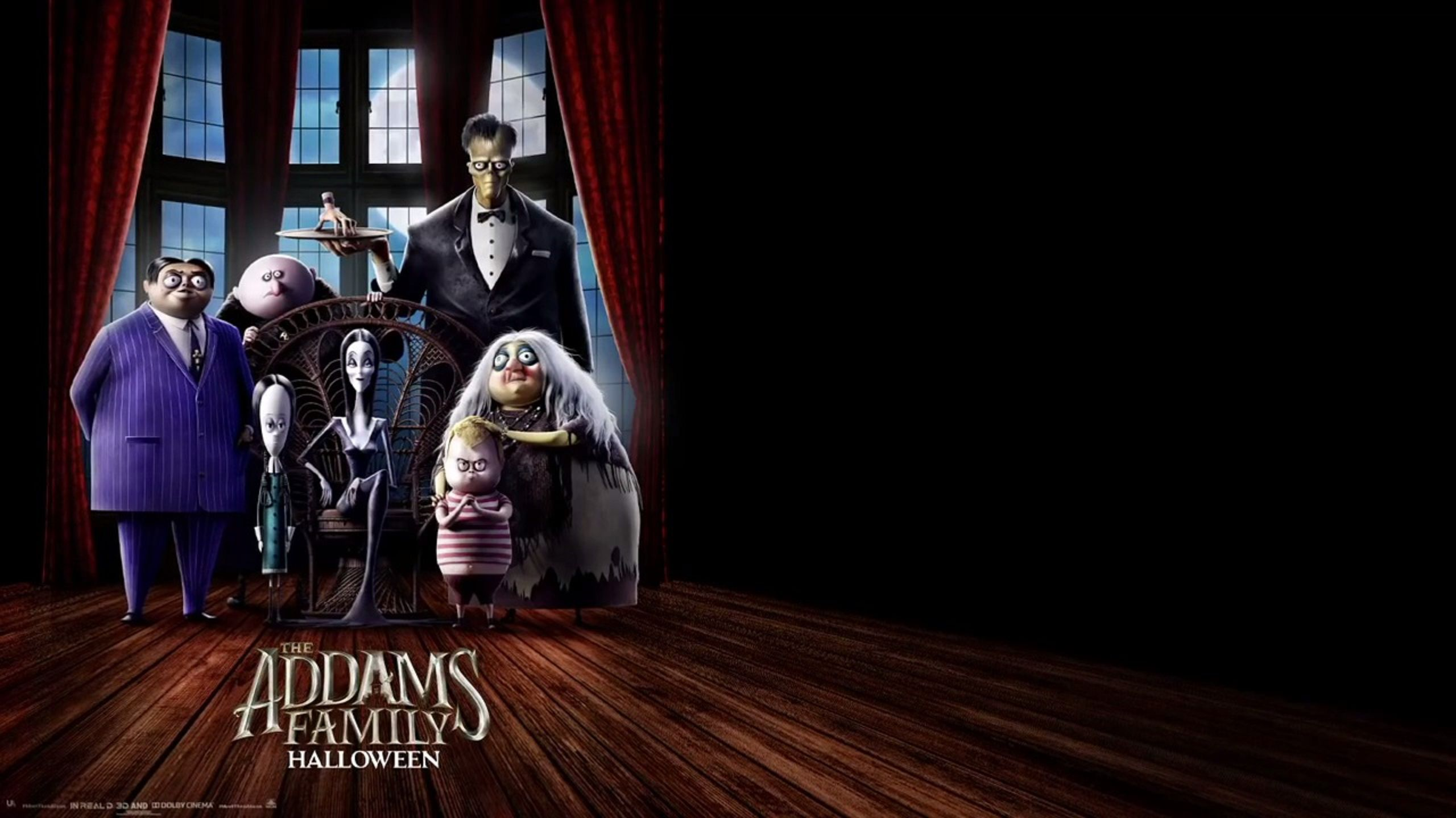 The Addams Family (animated 2019) - poster and wallpaper