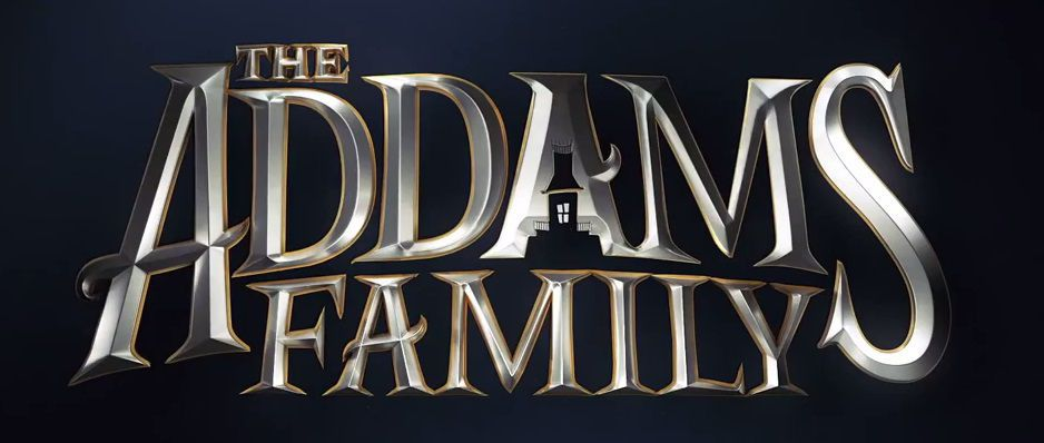 The Addams Family (animated 2019) - logo