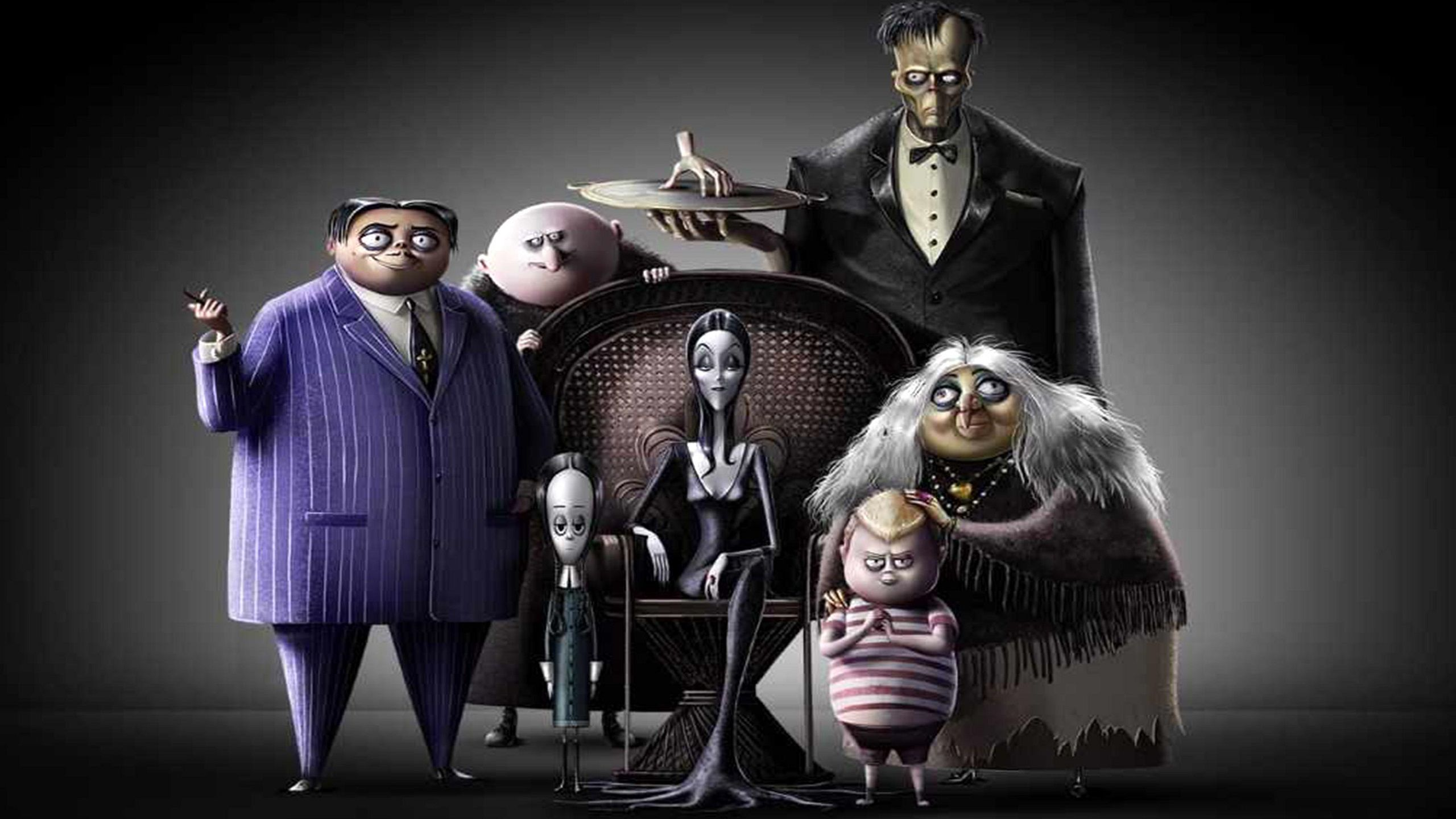 The Addams Family (animated 2019) characters