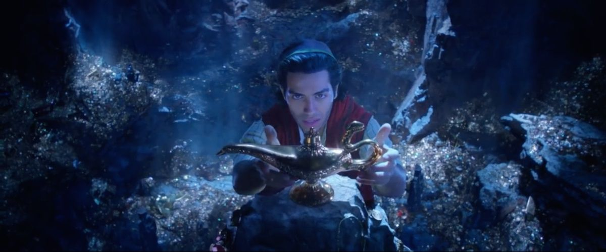 Aladdin (live action 2019) - magic lamp scene