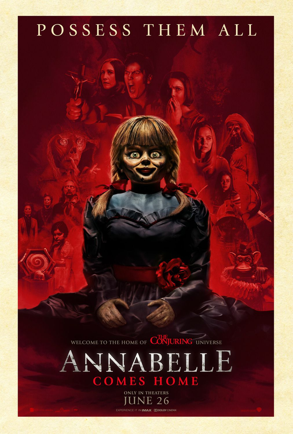 Annabelle comes Home 2019 Possess them all - poster