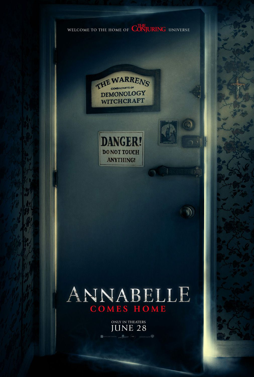 Annabelle comes Home 2019 The Warrens consultant of Demonoly Witchcraft - Danger