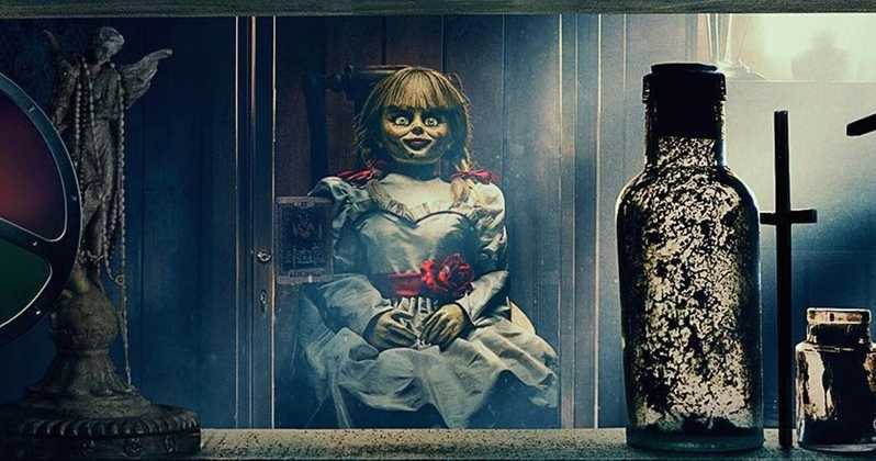 Annabelle comes Home (2019) scary shop