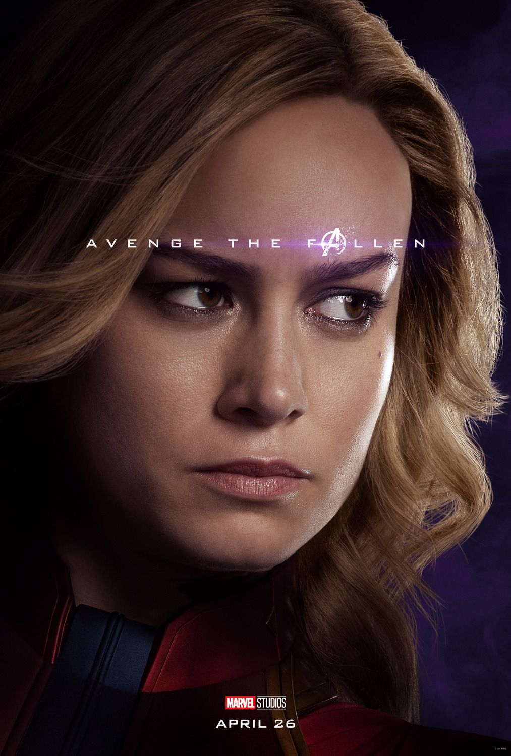 Brie Larson as Carol Danvers Capitan Marvel