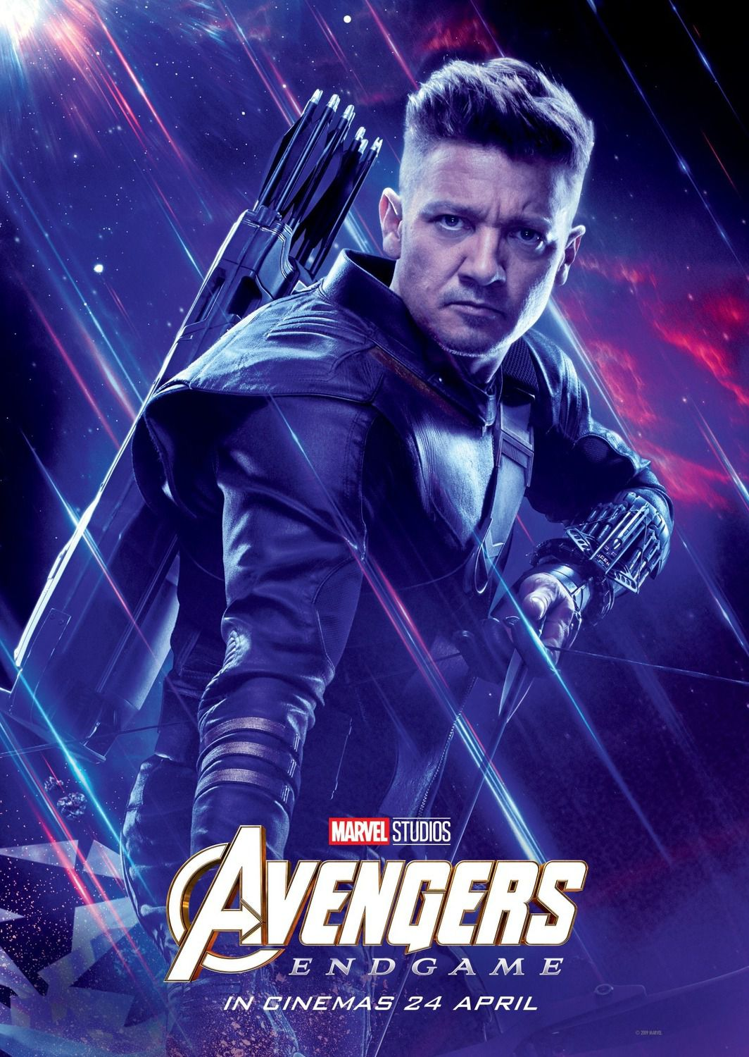 Jeremy Renner as Occhio di Falco Hawkeye