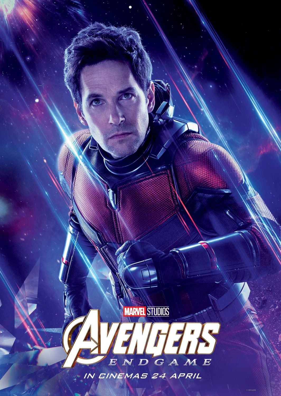 Scott Lang as Paul Rudd  - AntMan