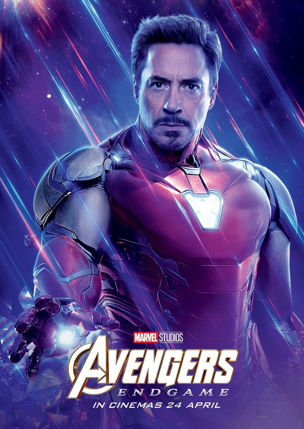 Robert Downey Jr. as Tony Stark Iron Man