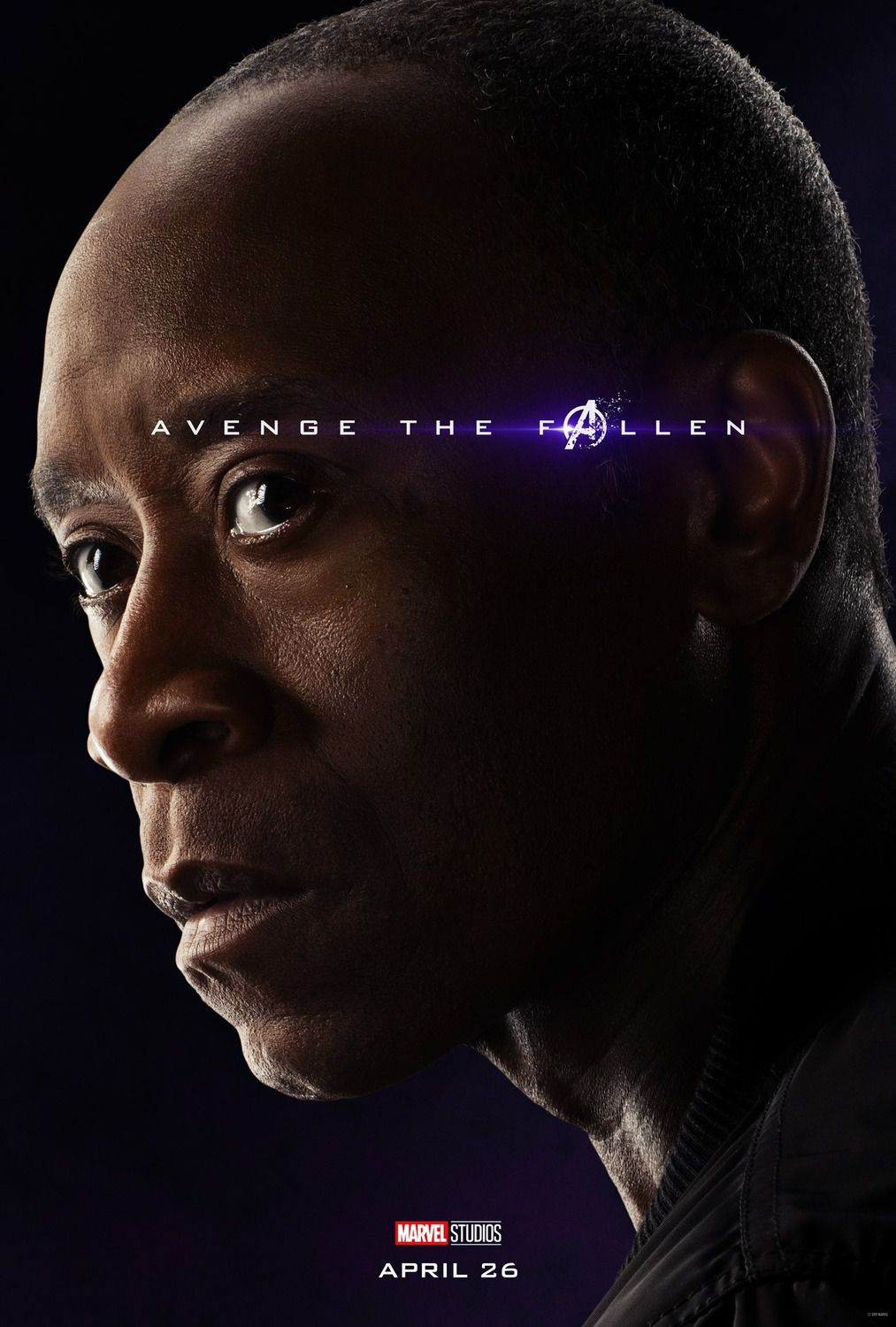 Don Cheadle as War Machine
