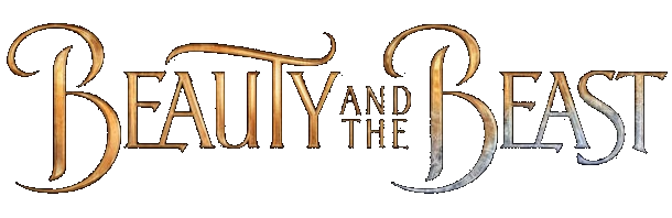 Beauty and the Beast Live Action 2017 logo transparent