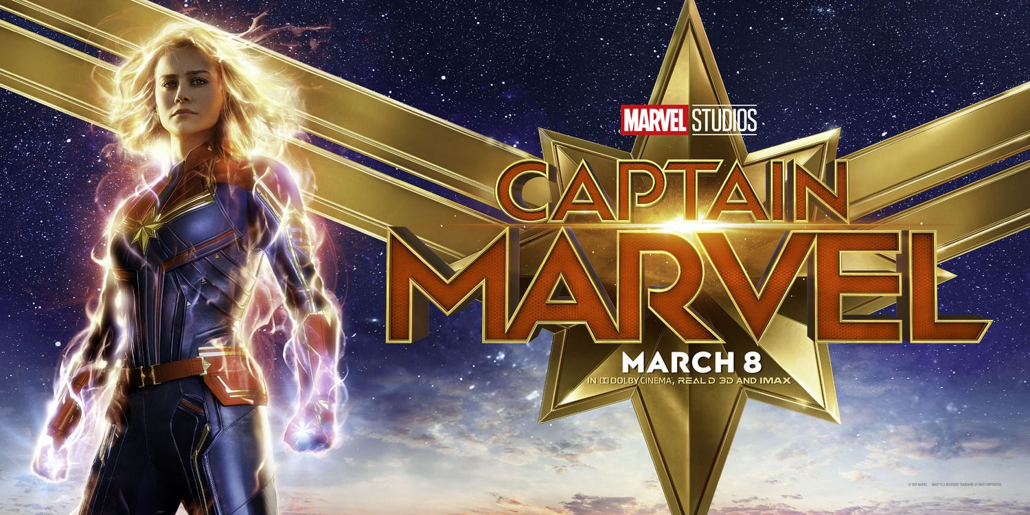 Brie Larson - Captain Marvel banner