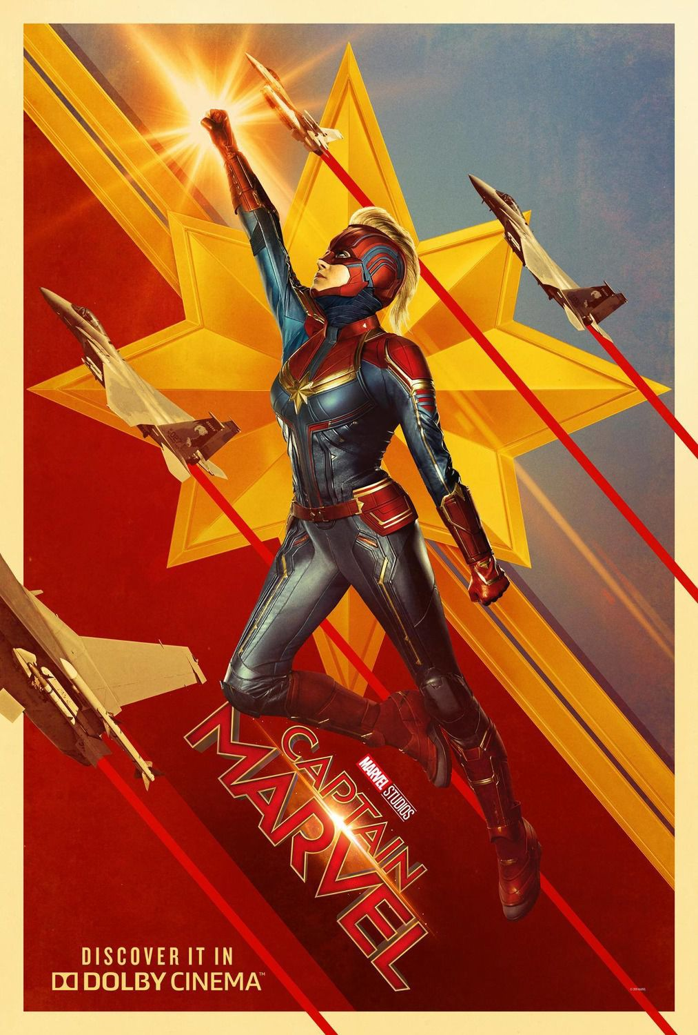 Captain Marvel - live action - poster collection