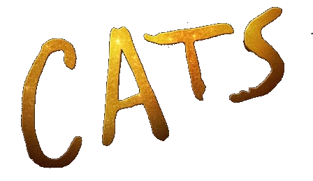 Cats 2019 movie logo transparent