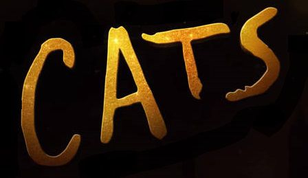 Cats 2019 movie logo black
