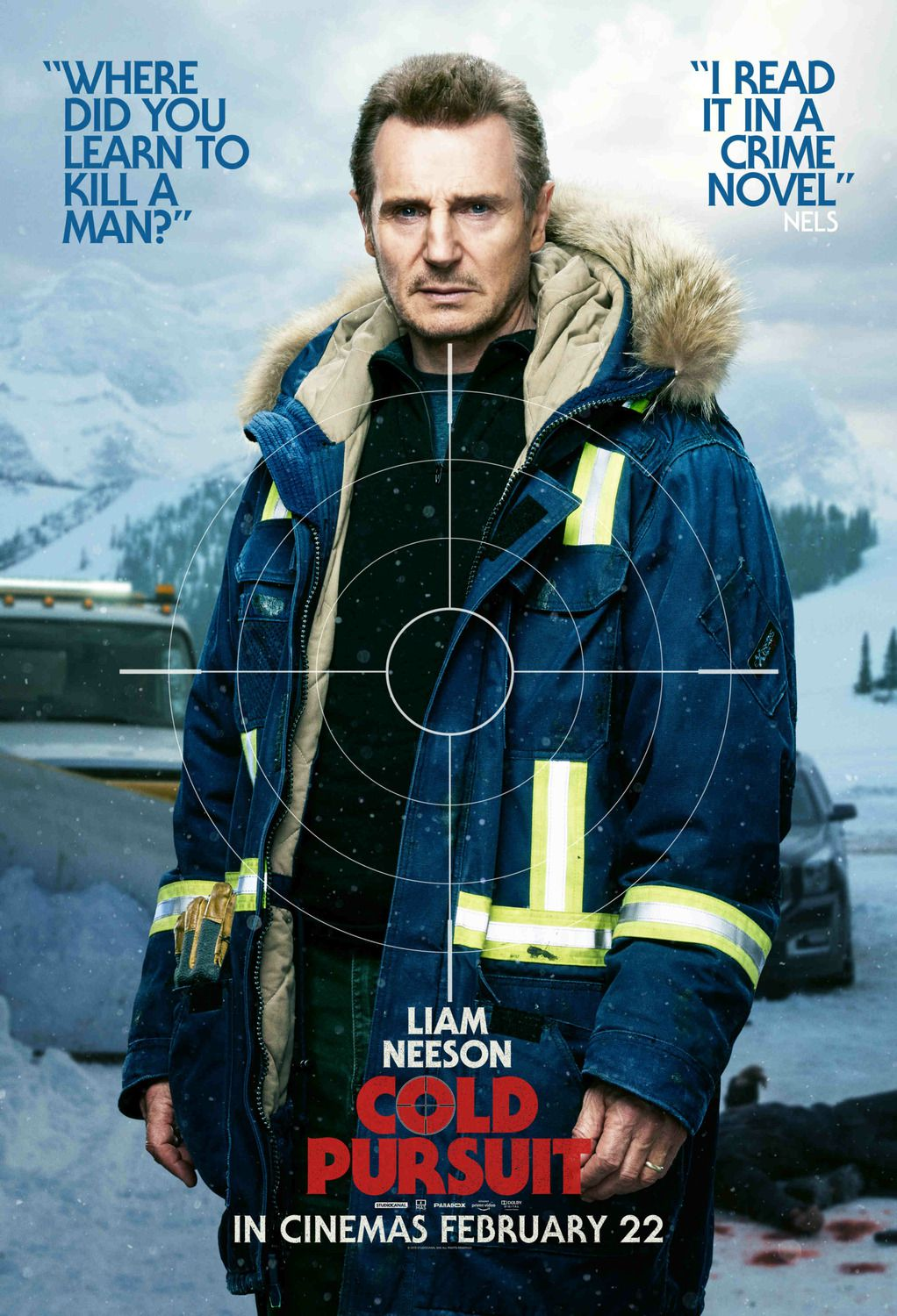 Liam Neeson - Where did you learn to kill a man - I read it ina crime novel Nels