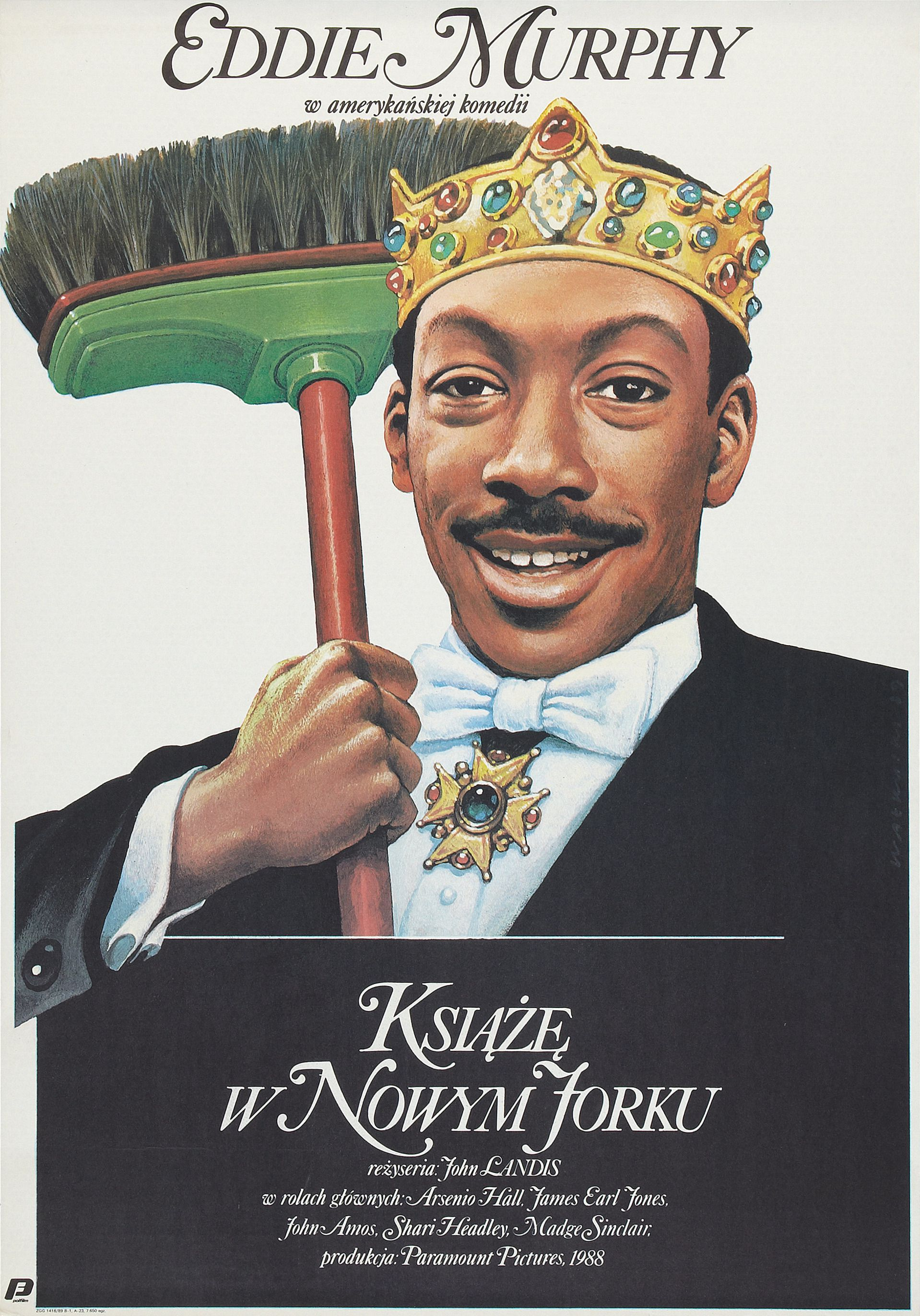 Coming to  America - Il Principe cerca Moglie (1988) with Eddie Murphy
