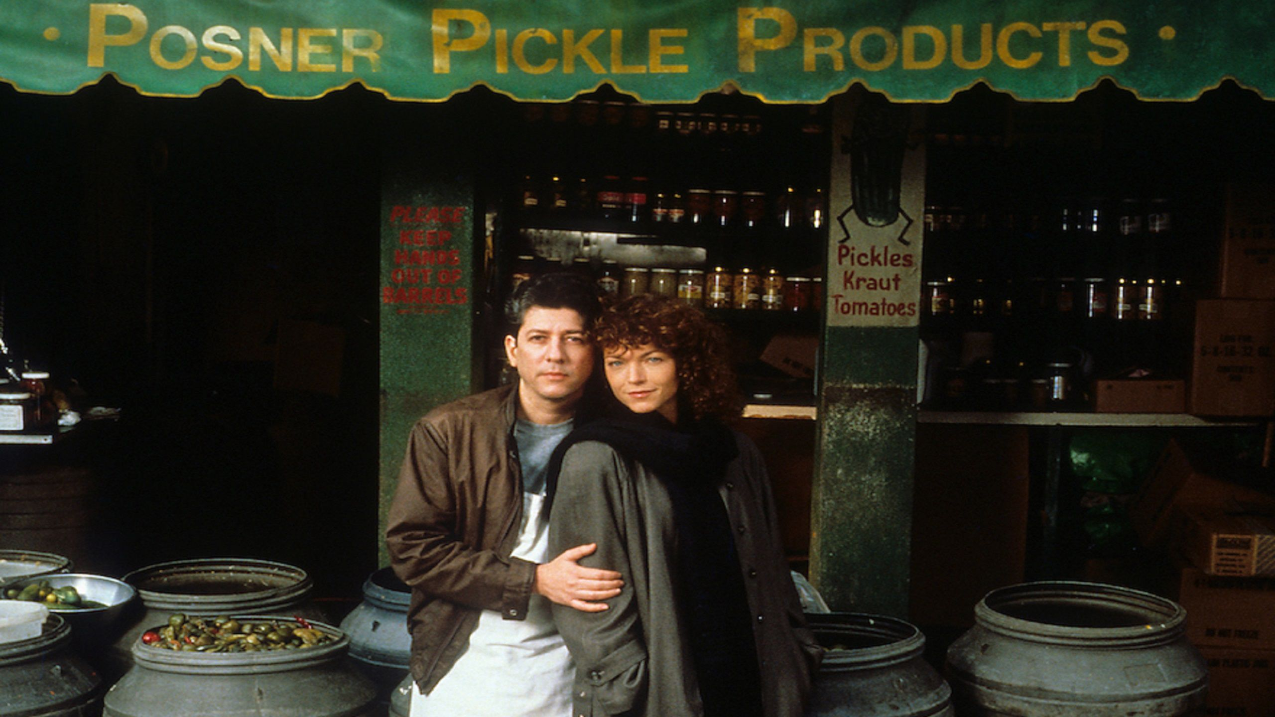 Crossing Delancey (1988) Amy Irving & Peter Riegert
