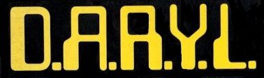 D.A.R.Y.L. 1985 DARYL black and yellow logo
