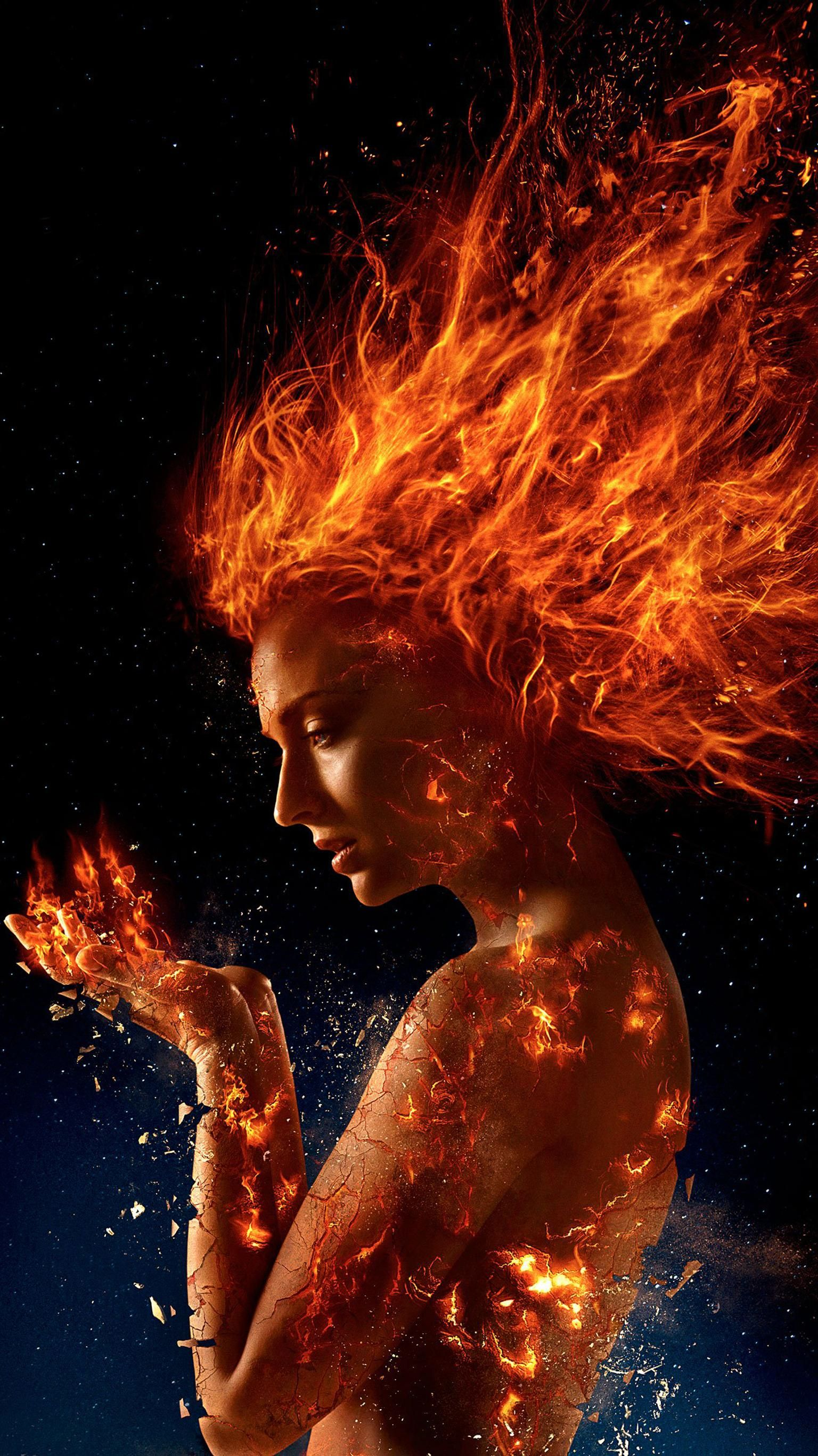 fire lady Dark Phoenix (2018)