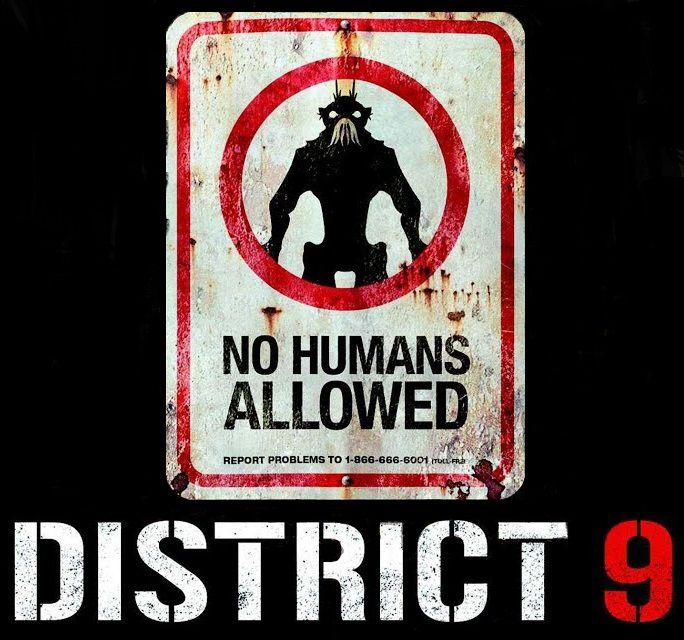 District 9 2009 black logo