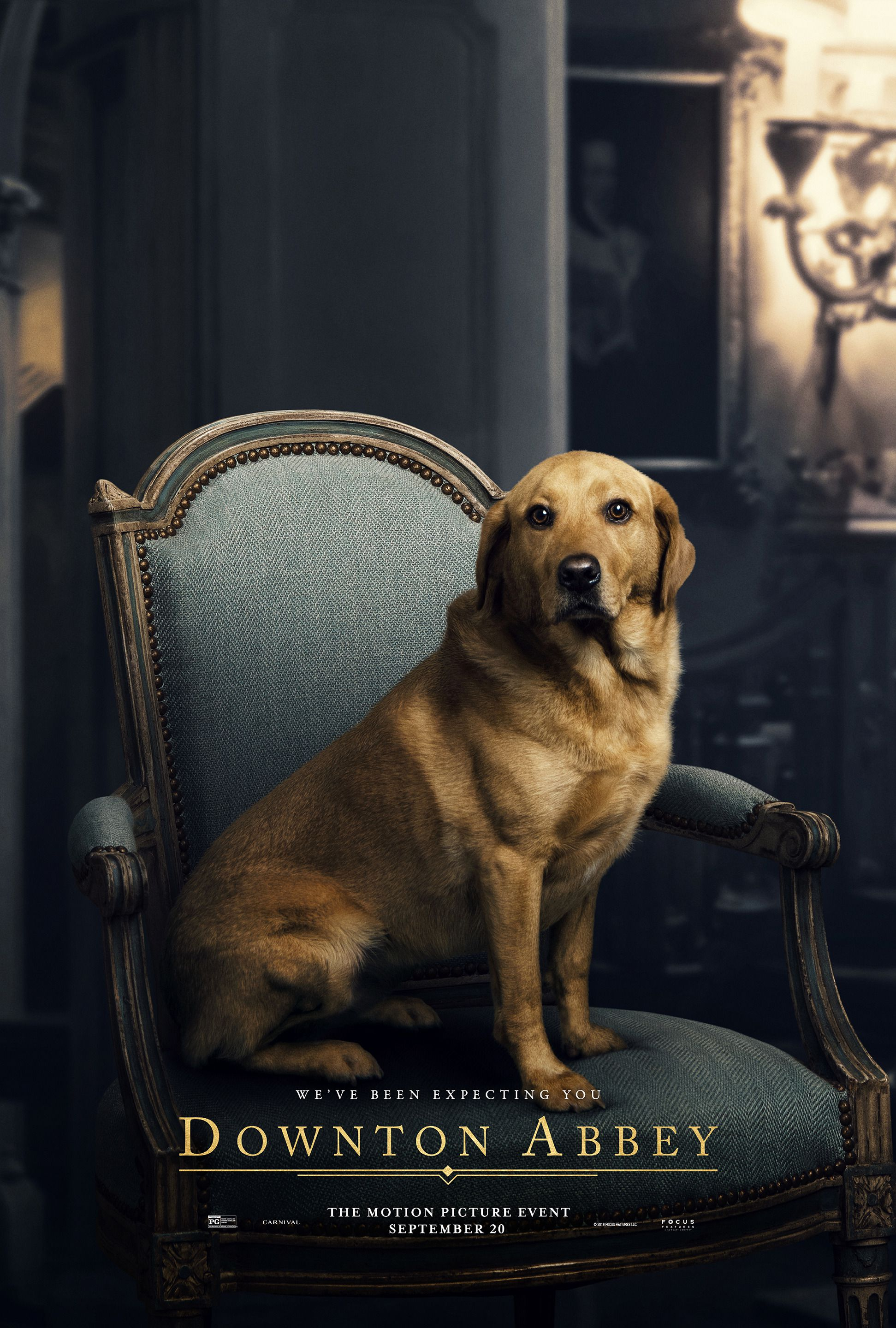 Downton Abbey (2019) the Dog