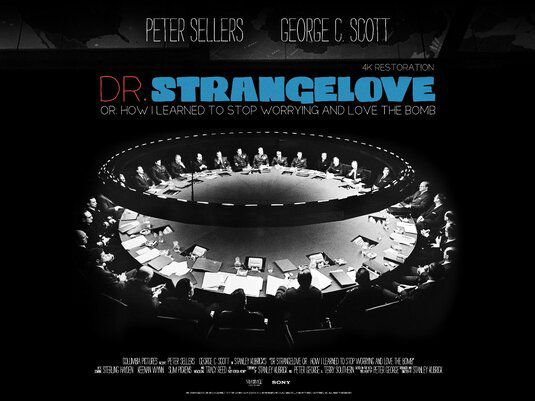 Dr Strangelove or How I Learned to Stop Worrying and Love the Bomb - Dottor Stranamore (1964)
