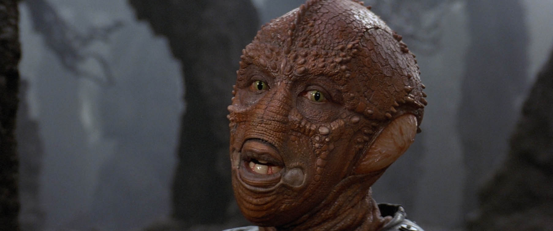 Enemy Mine 1985 Alien face