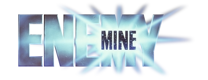 Enemy Mine 1985 transparent logo