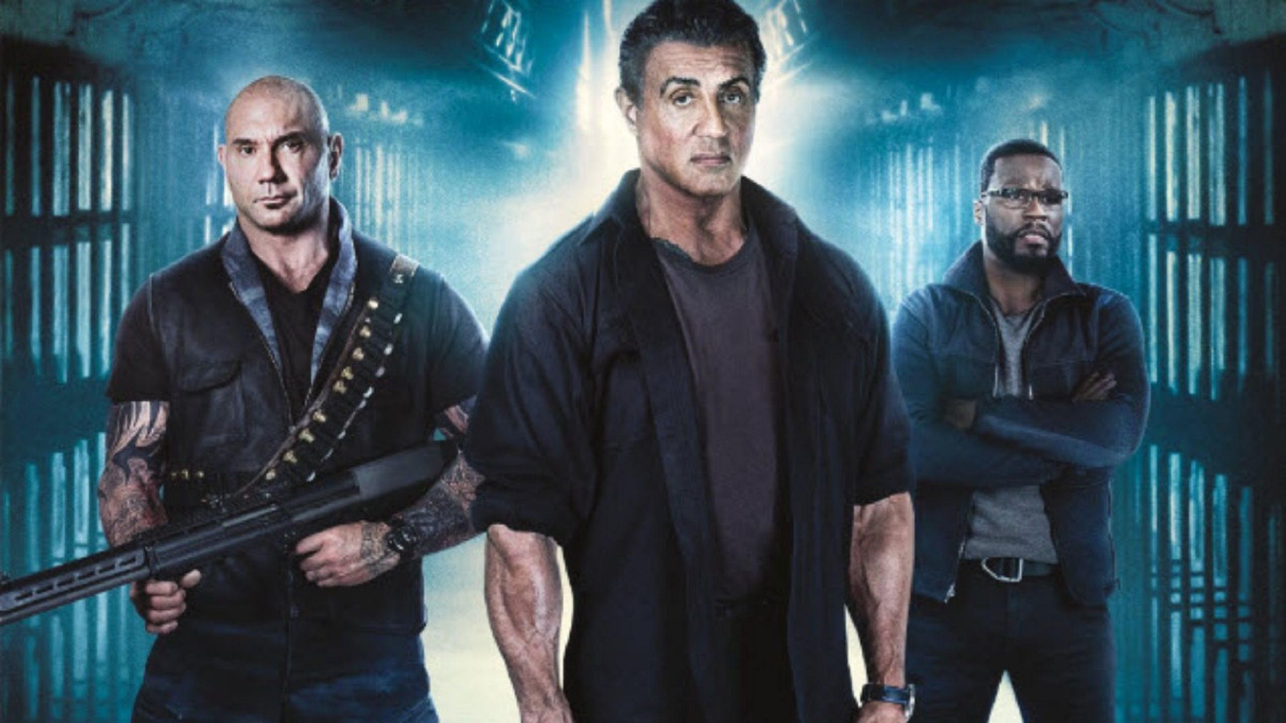 Escape Plan 3 the Extractors 2019 Sylvester Stallone, 50 Cent, Dave Bautista