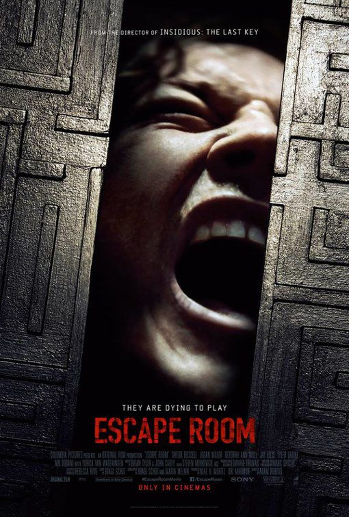 Escape Room (2018) poster