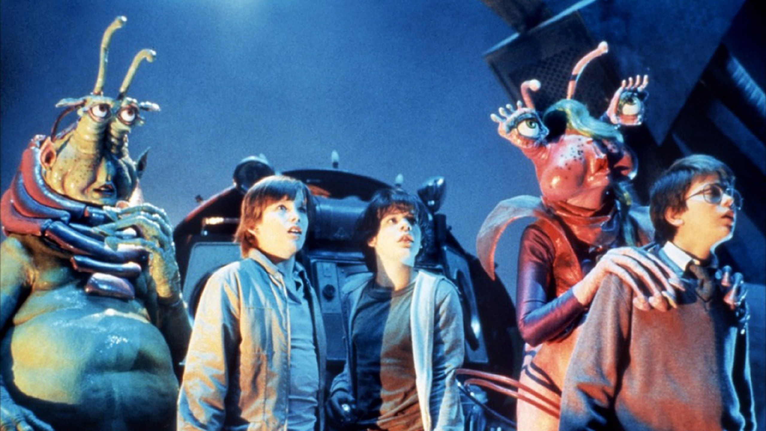 Explorers (1985) movie alien friends encounter