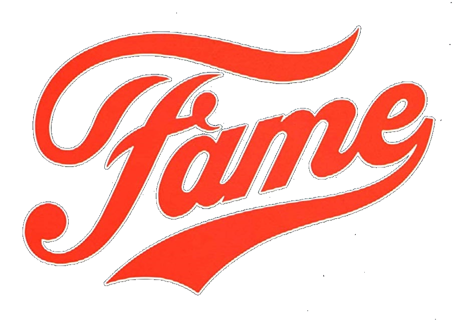 Fame 1980 logo transparent