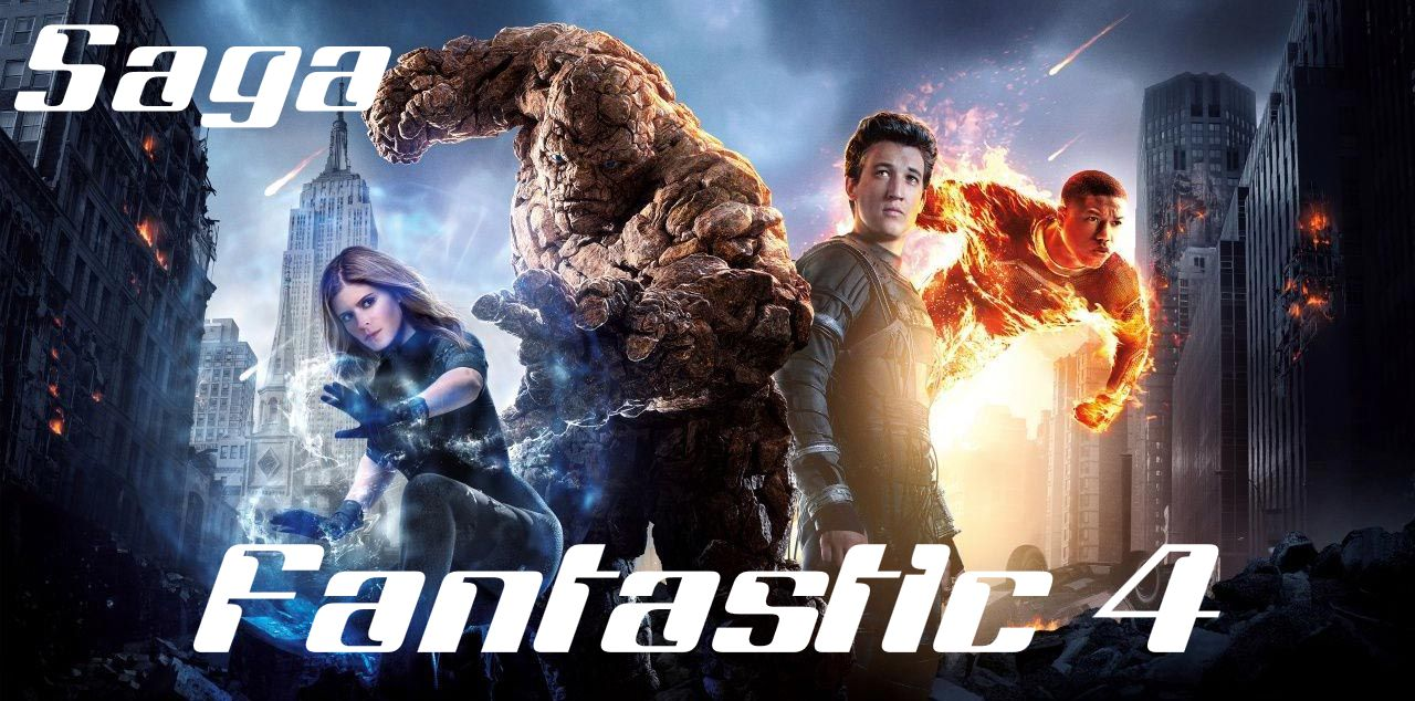 Fantastic 4 Saga ... all live action adventures