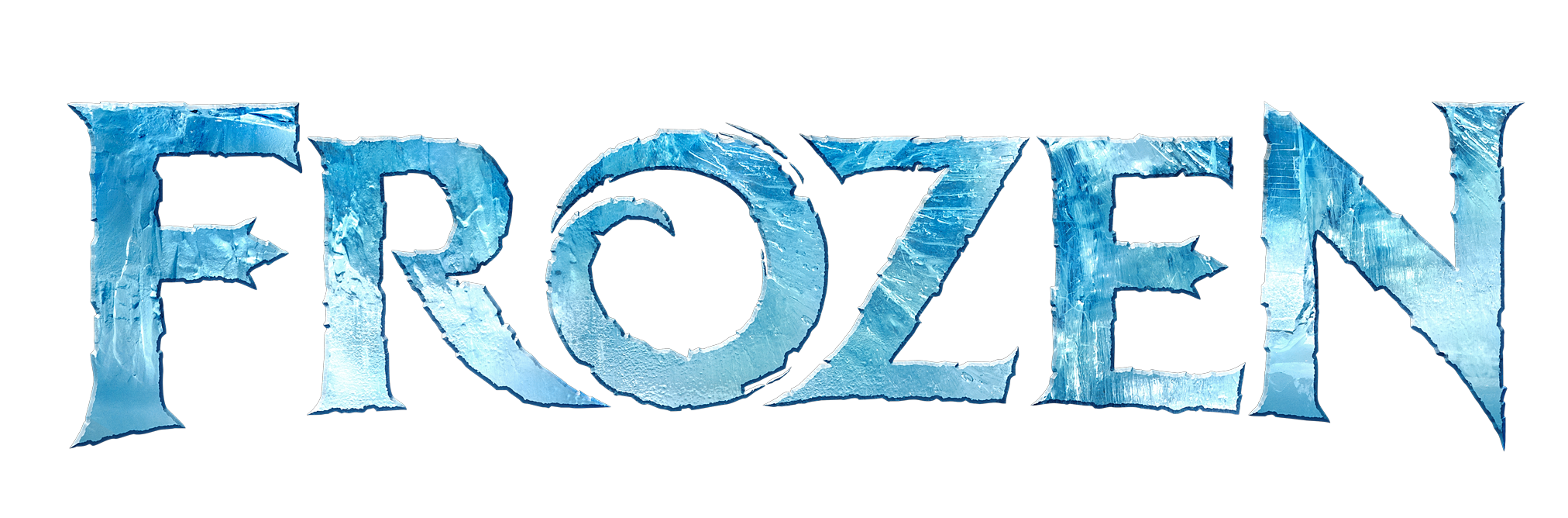 Frozen logo transparent