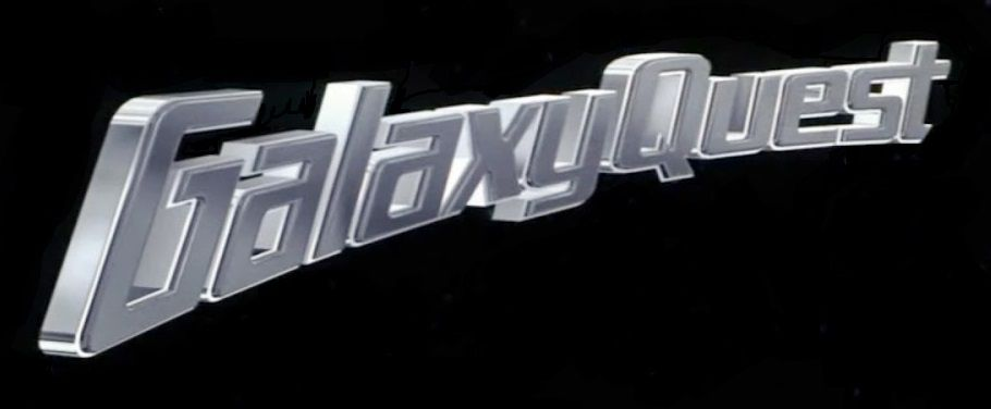 Galaxy Quest 1999 Black Logo
