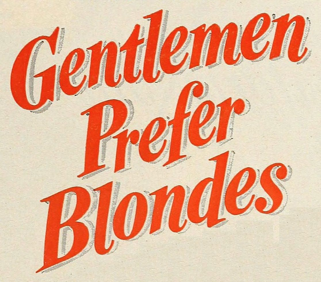 Gentlemen Prefer Blondes 1953 logo
