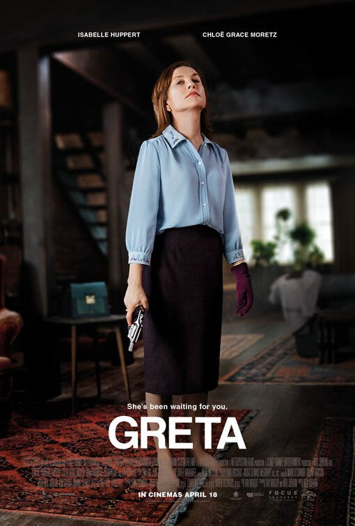 Greta 2019 She's been waiting for you - Isabelle Huppert - poster