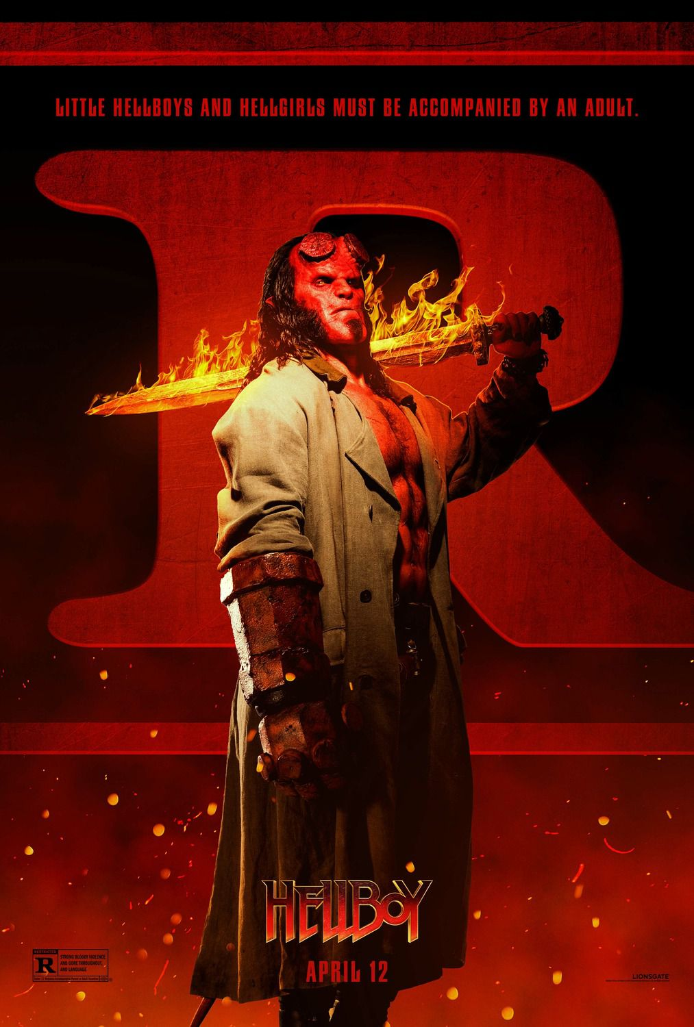 Hellboy 2019 Little hellboys and hellgirls must be accompanied by an adult