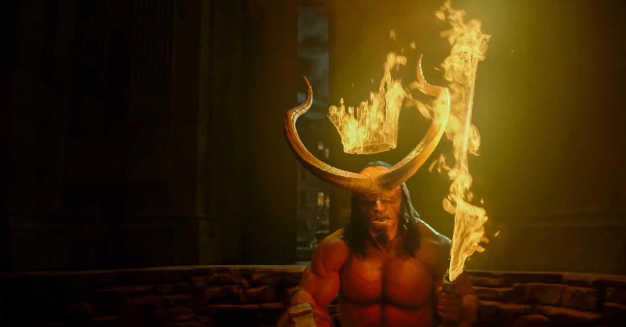 Hellboy 2019 king of Hell