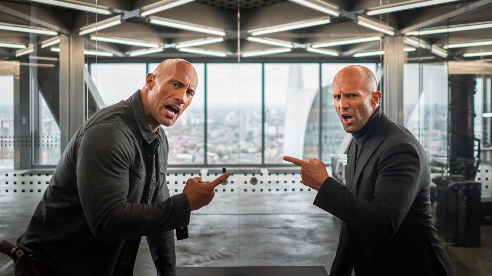 Hobbs & Shaw (2019) - Dwayne Johnson and Jason Statham