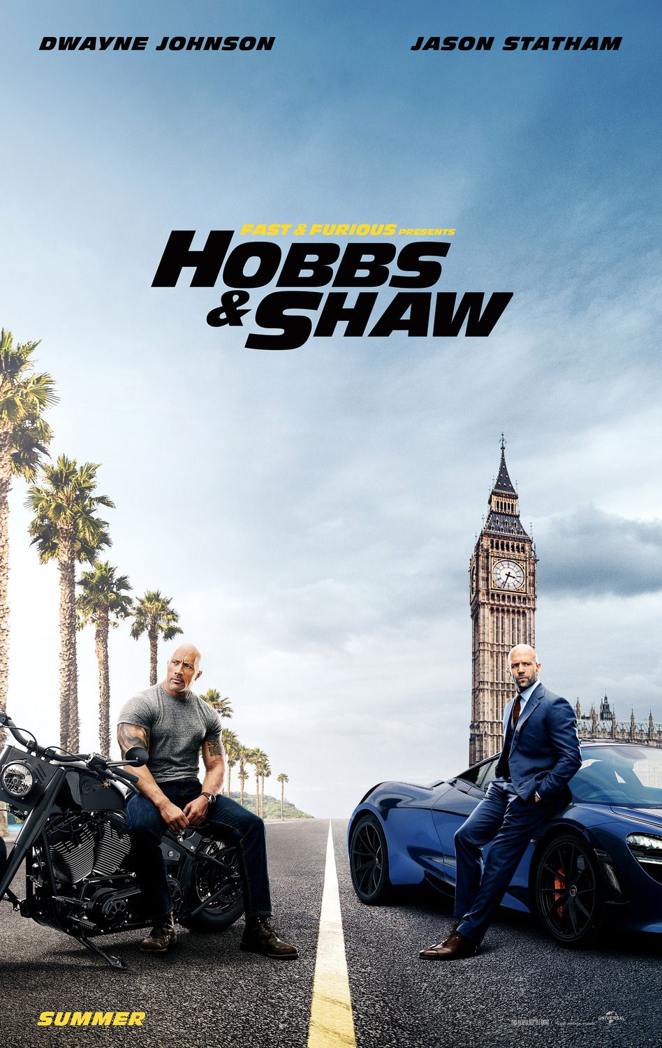 Hobbs & Shaw (2019) - live action posters collection