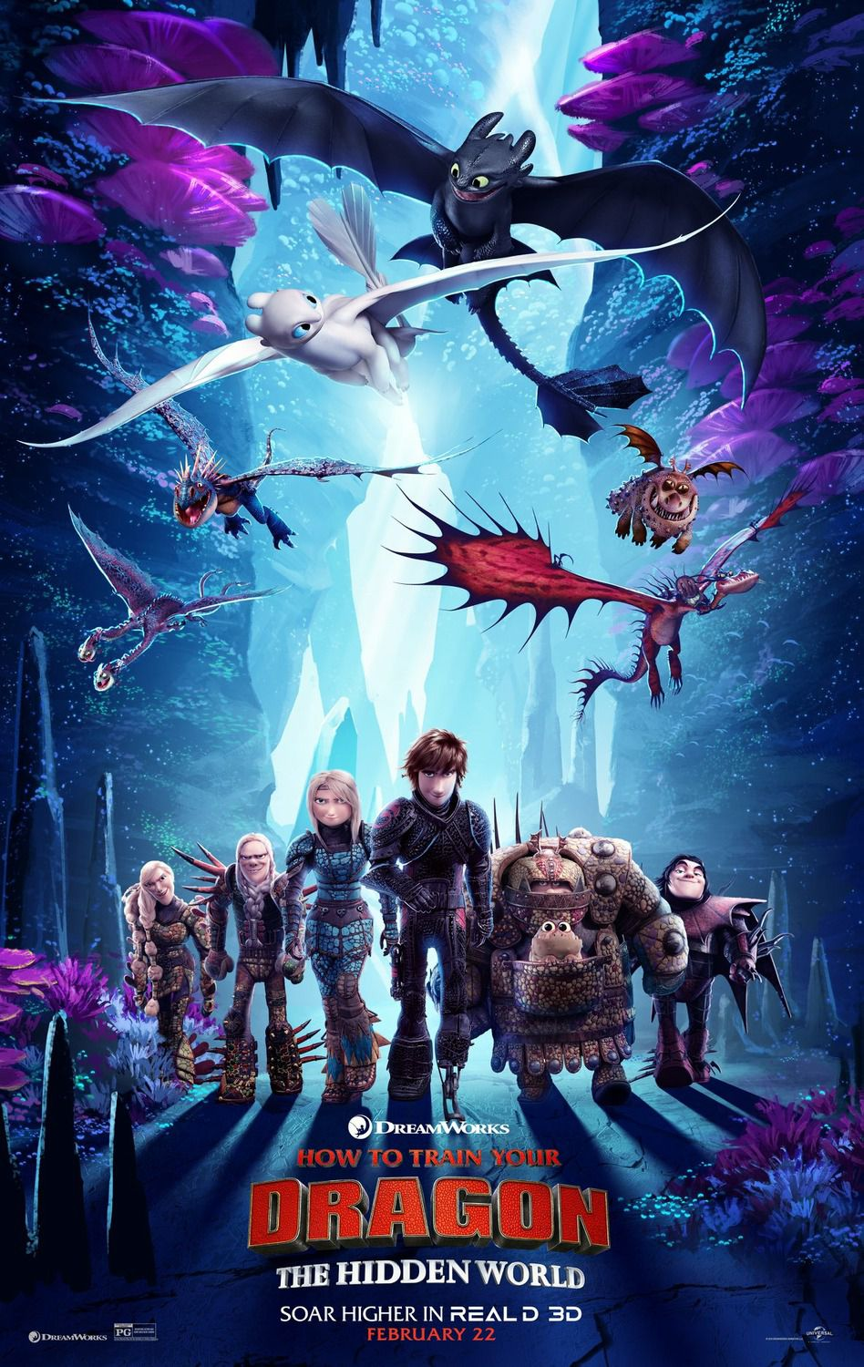 Dragon Trainer 3 - How to Train Your Dragon the Hidden World (2019) posters collection