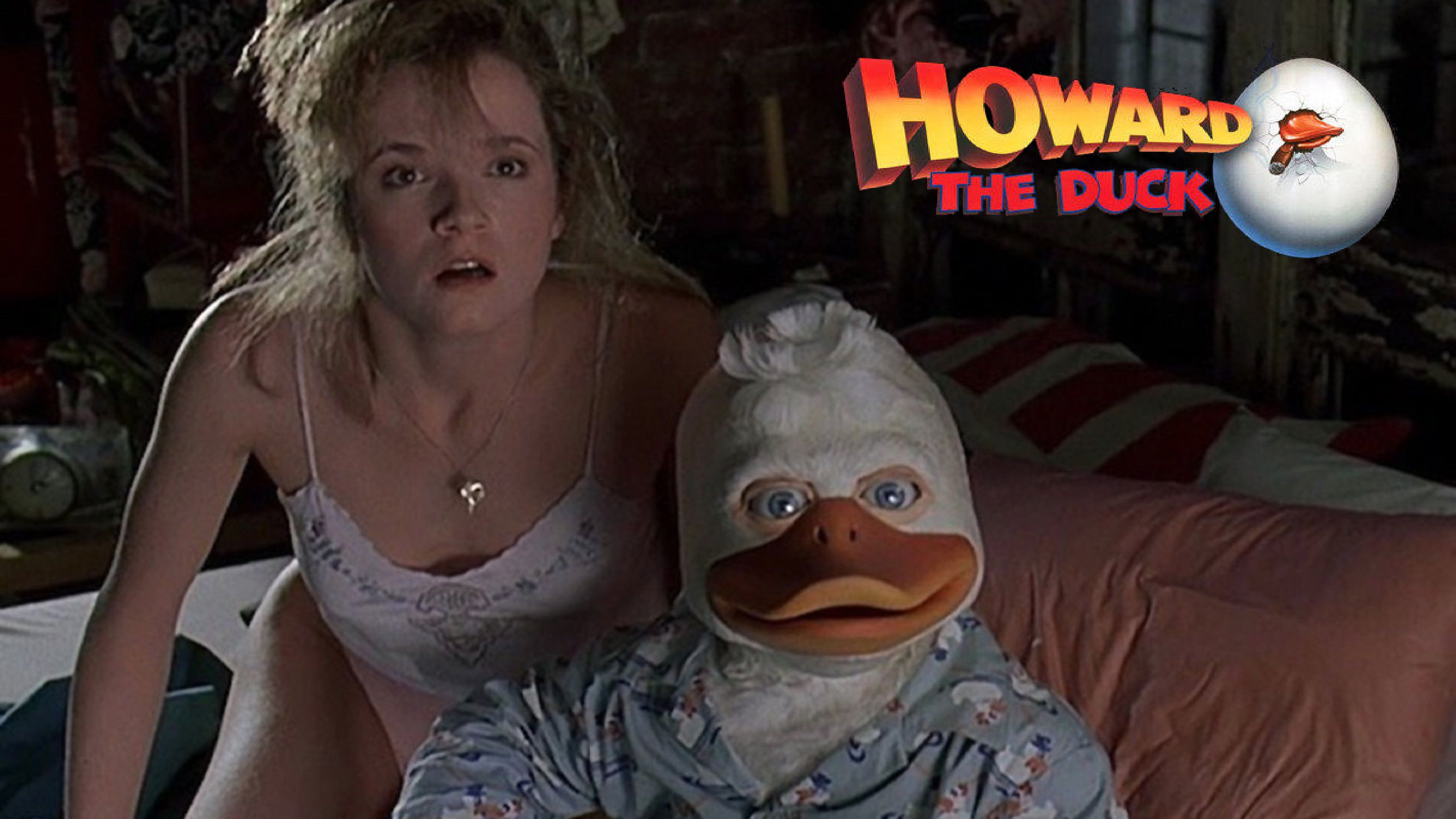 Howard The Duck 1986 bed love scene